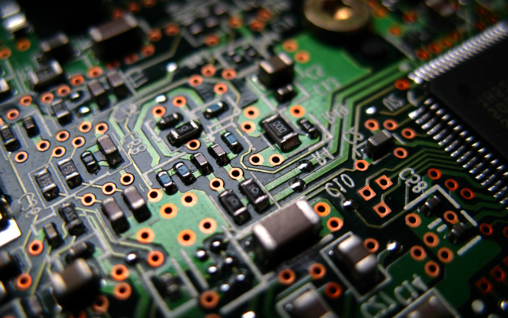 Integrated Circuit Wallpaper Electronic
