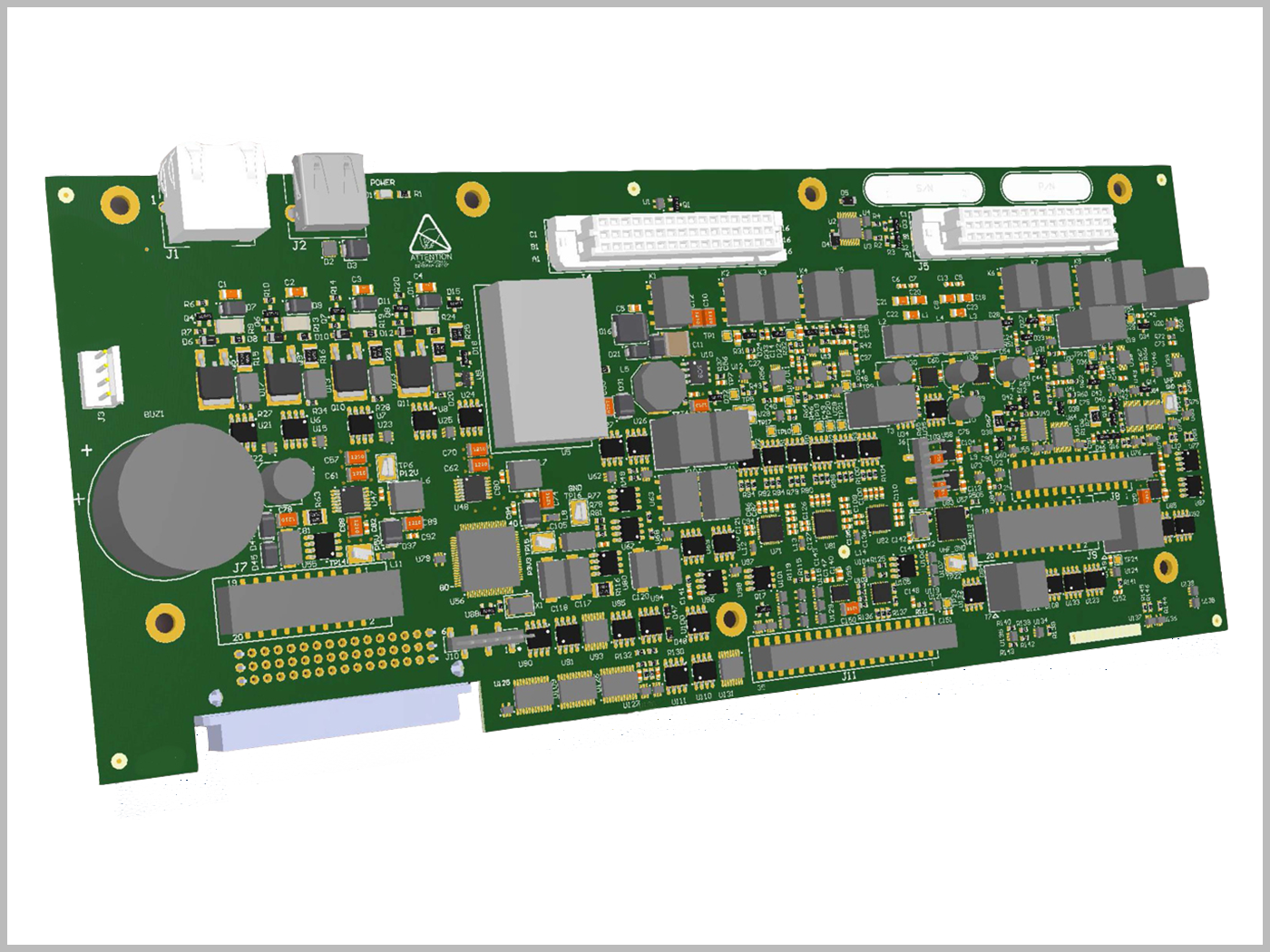 High Speed Design Inc Services Electronic 2 Layout Of Printed Circuit Board